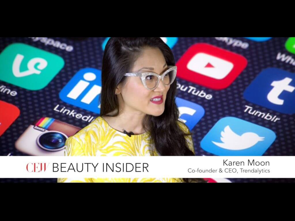 karen moon speaking with cew beauty insider