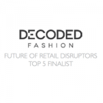 decoded fashion logo black and white