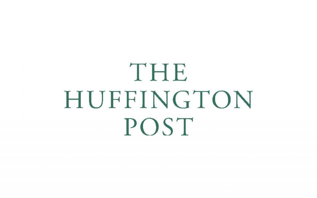 huffpo logo dark green
