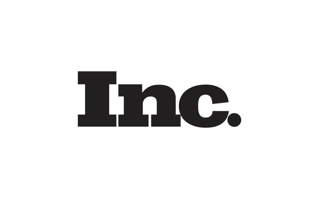 inc media logo in black and white