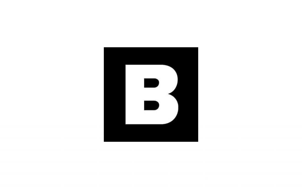 brand magazine korea logo in black and white