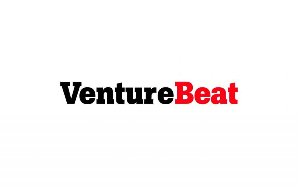 venturebeat logo red and black